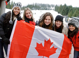 ILAC Vancouver students in Whistler