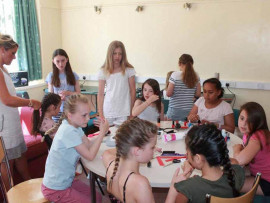 Учащиеся Heathfield International Summer School на занятиях