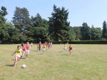 Футбольный матч в Heathfield International Summer School