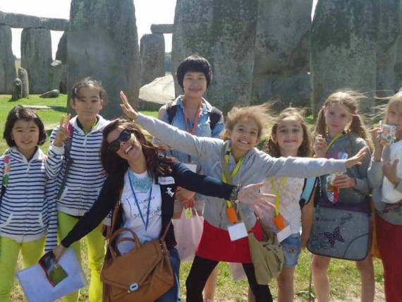 Студенты Heathfield International Summer School на экскурсии