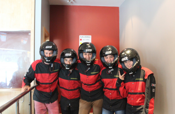 Atlas Language School_Karting