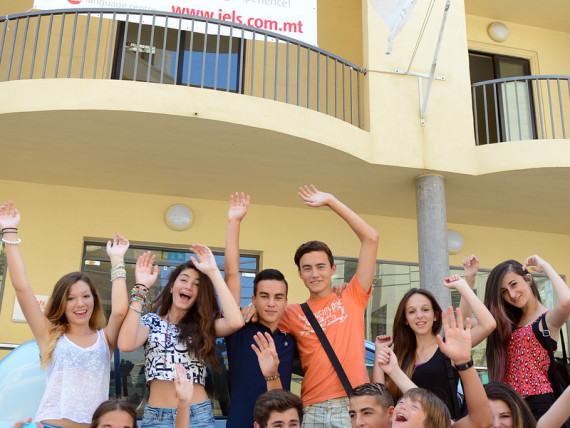 Студенты IELS Malta Young Learner centre
