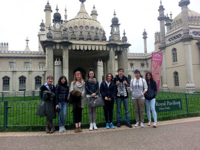 Студенты English Language Centre Brighton