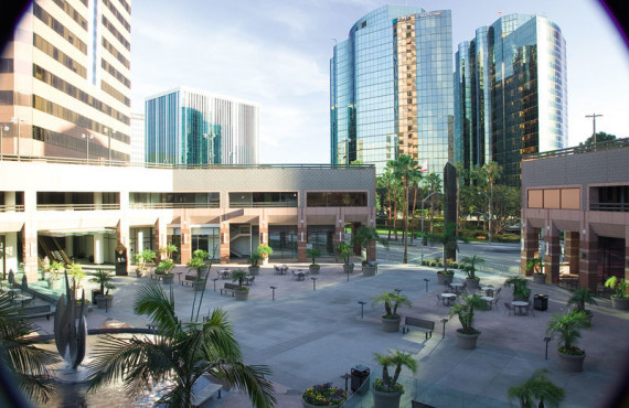 Здание школы Embassy English Los Angeles – Long Beach