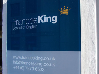 Здание школы Frances King School of English