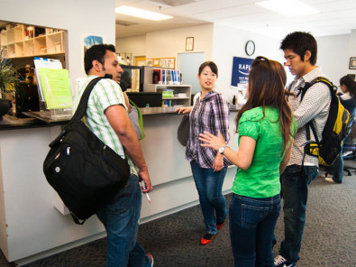 Студенты Kaplan International College Berkeley