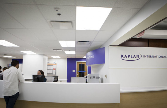 Ресепшен в Kaplan International College Chicago