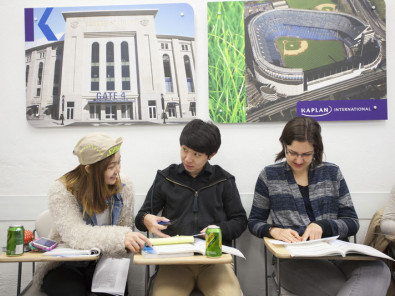 Студенты Kaplan International College New York – SoHo на занятиях
