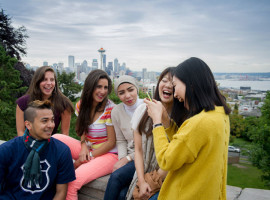 Студенты Kaplan International College Seattle