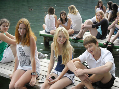 Студенты DID Deutsch-Institut Hintersee-Alps