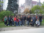 Students at Casa Loma Castle