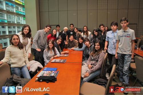 Students at ILAC Vancouver