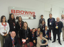Студенты Browns English Language School Brisbane