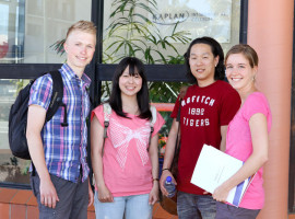 Студенты Kaplan International College Cairns