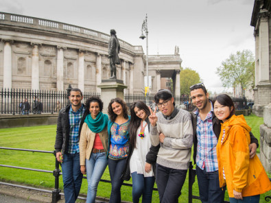 Студенты Kaplan International College Dublin