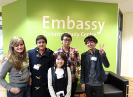 Студенты Embassy English Toronto