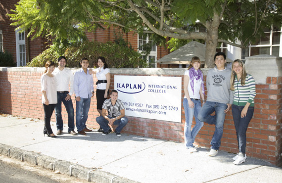 Студенты Kaplan International College Auckland