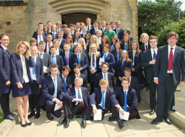 Студенты Barnard Castle School