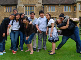 Студенты Bellerbys College Cambridge