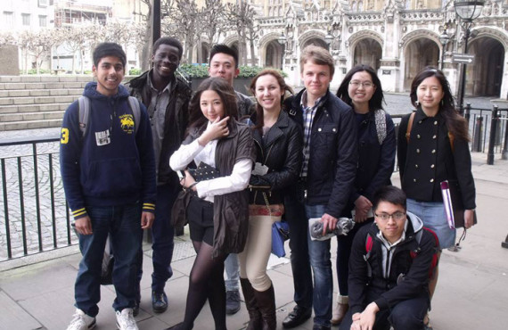 Студенты Cambridge Tutors College