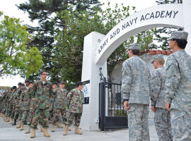 Студенты Army and Navy Academy