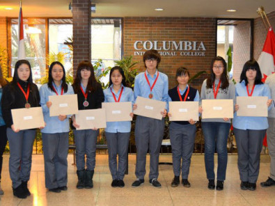 Студенты Columbia International College of Canada