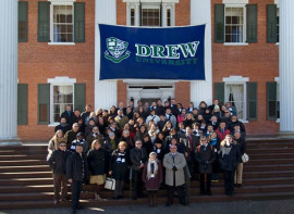 Студенты Drew University Foundation Program