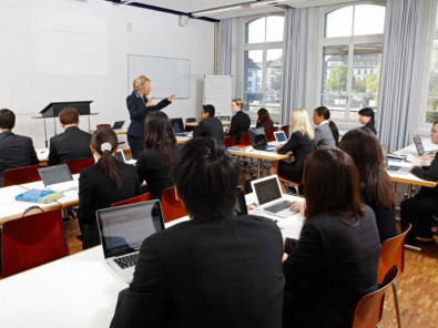 Занятия в Business and Hotel Management School