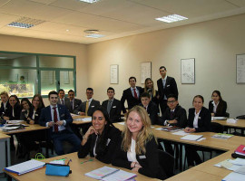 Студенты Les Roches School of Hotel Management