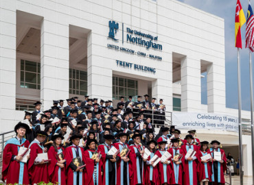Выпускники The University of Nottingham Malaysia Campus