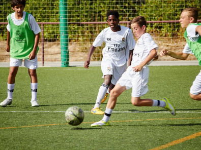 Игра в Real Madrid Foundation Campus Experience