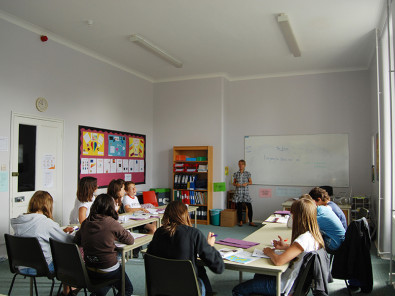 Урок в Edinburgh School of English