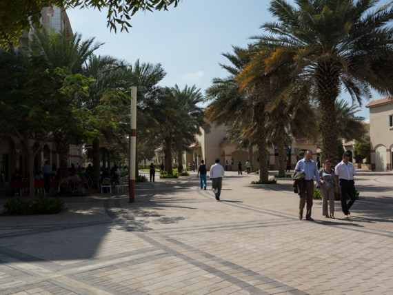 Территория Middlesex University Dubai