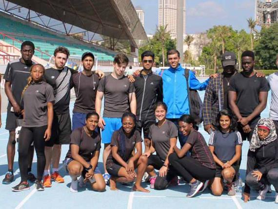 Спорт в Middlesex University Dubai