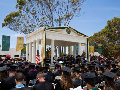 Выпускной в Point Loma Nazarene University