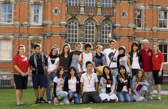 Лагерь Oxford International Royal Holloway